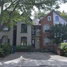 Rental info for 75 Marlborough Avenue in the Yonge-St.Clair area