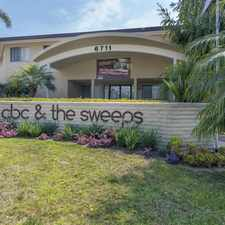 Rental info for CBC and The Sweeps in the Isla Vista area