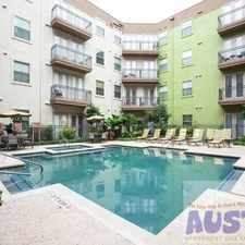 Rental info for N Lamar Blvd & W 6th St in the Old West Austin area