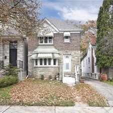 Rental info for 314 Saint Germain Avenue in the Lawrence Park North area