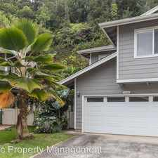 Rental info for 95-1337 Wikao St #50 in the Mililani Mauka area