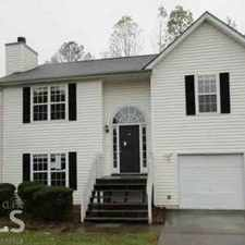 Rental info for 110 Poplar Pt Griffin Three BR, split foyer home with great curb