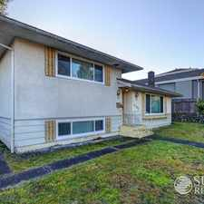 Rental info for 4166 Gilpin Crescent in the Burnaby area