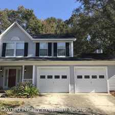 Rental info for 107 Carlisle Bay Court in the Goose Creek area
