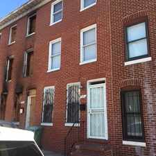Rental info for 35 S Carey Street in the Hollins Park area
