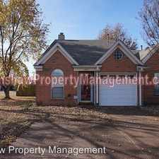 Rental info for 1807 Eagle Shore Dr in the Memphis area