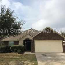 Rental info for 7317 Sierra Way in the South East Dallas area