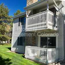 Rental info for Great 1 Bed Condo with Easy Access to I-225 & Light Rail in the Sable Ridge area