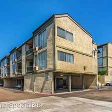 Rental info for 6675 Mission Gorge Road A109 in the San Diego area