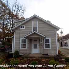 Rental info for 2014 38th Street NW in the Canton area
