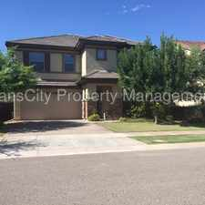Rental info for Gilbert Home for rent, 4 bedrooms - 3 baths, Higley & Elliot in the Gilbert area
