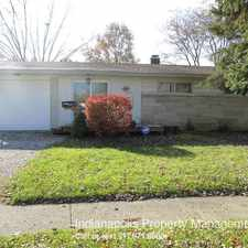 Rental info for 2173 Newcomer Lane in the Indianapolis area
