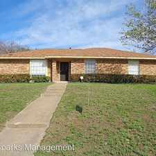 Rental info for 1315 Drury Dr. in the Dallas area