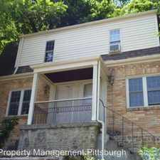 Rental info for 1227 Stowe Ave. Apt. A in the Pittsburgh area