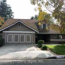 Rental info for 2143 E. Fallbrook Ave in the Fresno area