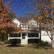 Rental info for Stately Colonial In Durham in the Durham area