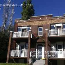Rental info for 4167 Lafayette Ave in the McKinley Heights area