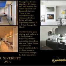 Rental info for 180 Adelaide Street West in the Church-Yonge Corridor area