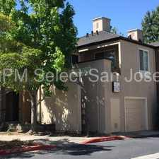 Rental info for STUNNING 2 BDRM/2 BA IN RIVER OAKS COMMUNITY! in the San Jose area