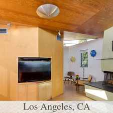 Rental info for Stunning Architectural Home With Jet Liner Views! in the Los Angeles area