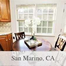 Rental info for 10 Mins Walking Distance To San Marino High. Wi... in the Pasadena area