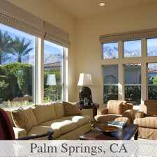 Rental info for Bright Palm Springs, 3 Bedroom, 2.50 Bath For Rent