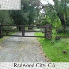 Rental info for House In Move In Condition In Redwood City in the Redwood City area