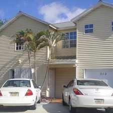 Rental info for 313 N D St in the Lake Worth area