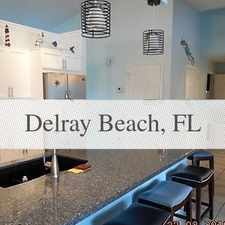 Rental info for Nicely Furnished 4 Bedroom 2 Bath Executive Sty... in the Delray Beach area