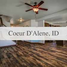 Rental info for Nearly New Craftsman Home In Lake Forest West in the Coeur d'Alene area