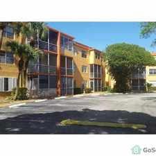 Rental info for Beautiful and Spacious 2 bedroom apartment with brand new bedroom flooring, and just installed stainless steel kitchen appliances in the Deerfield Beach area