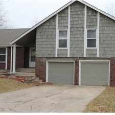 Rental info for Blue Springs Is The Place To Be! Come Home Today! in the Independence area