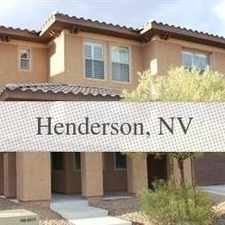 Rental info for House For Rent In Henderson. Parking Available! in the Lake Las Vegas area