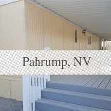 Rental info for House In Great Location. Washer/Dryer Hookups! in the Pahrump area