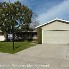 Rental info for 7119 Blue Hill Dr in the Calabazas North area