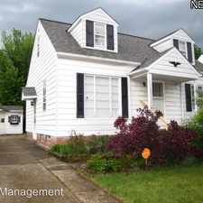 Rental info for 21170 Fuller AVE in the Cleveland area