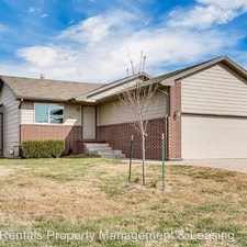 Rental info for 5414 S. Elmhurst Circle in the Wichita area