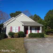 Rental info for 4820 Morecambe Way in the Fuquay-Varina area