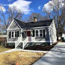 Rental info for 2806 Shenandoah Ave in the Durham area