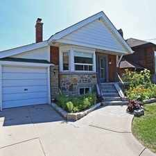 Rental info for 33 Coxwell Boulevard in the O'Connor-Parkview area