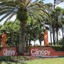 Rental info for The Canopy Apartment Villas