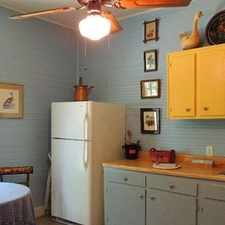 Rental info for Charming Old Aiken Cottage In Historic Downtown.