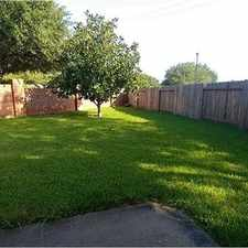 Rental info for Spacious And Bright One Story Home! in the Houston area