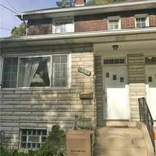 Rental info for 1421 Walnut St in the Pittsburgh area