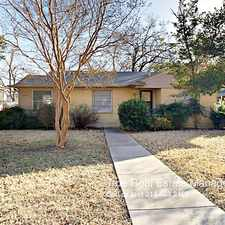 Rental info for 5918 Overlook Drive in the Dallas area