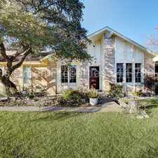 Rental info for Very private home with great location in the Austin area