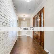 Rental info for Wonderful Opportunity In The Heart Of Plano! in the Liberty Park area
