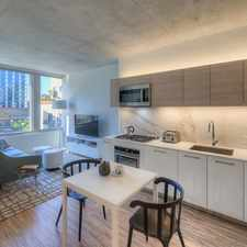 Rental info for N Desplaines St & W Randolph St in the West Loop area