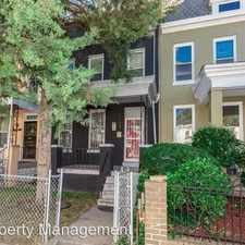 Rental info for 1133 Morse Street NE in the Washington D.C. area