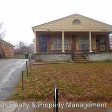 Rental info for 2238 Charjean in the Memphis area